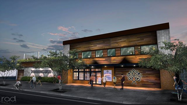 'Treehouse' is expected to open March 2019 in downtown Las Vegas (Photo: City of Las Vegas).