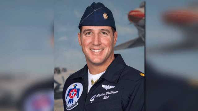 Maj. Stephen Del Bagno (Source: U.S. Air Force)