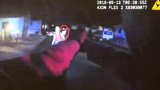 Las Vegas Metro police released body camera footage from an officer-involved shooting on May 12, 2018. (Gai Phanalasy/FOX5)