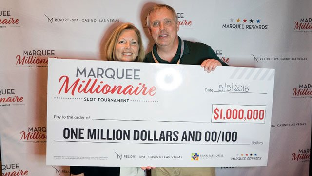 Richard Ideker, of Indiana, won $1 million at the M Resort Spa and Casino. (Source: M Resort)