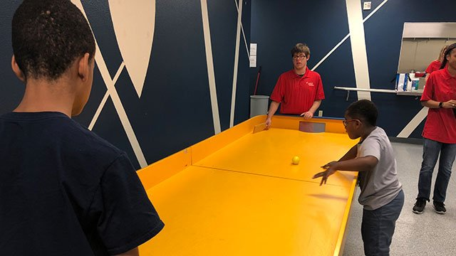 Visually impaired kids learn valuable skills during the Nevada Blind Children's Foundation Summer Camp (Mike Doria / FOX5).