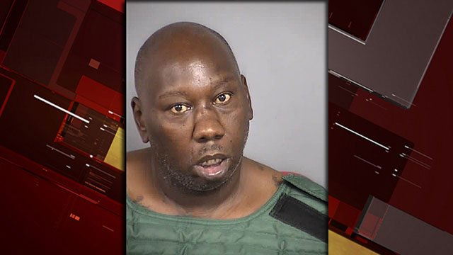 Kerry Brock, 42, was arrested in connection to a deadly shooting July 10, 2018 (NLVPD / FOX5).