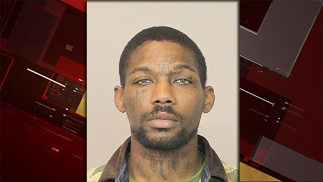 Vernon McClelland Jr., 29, was arrested in connection to an elderly woman's murder in Henderson (Courtesy: HPD / FOX5).