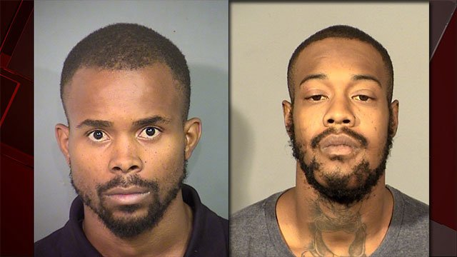 Michael Thomas, 24, and Trashaun Brooks, 23, are facing murder charges (Courtesy: NLVPD).