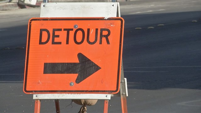 A portion of Interstate 15 will be closed between Aug. 15 and Aug. 16. (File/FOX5)